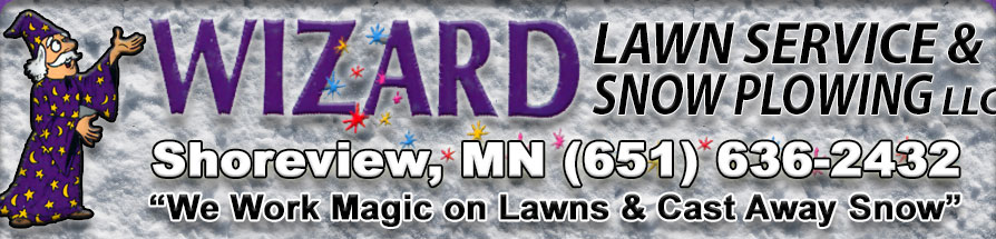 Wizard Snow Plowing, LLC Shoreview, MN
